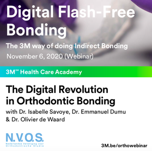 NVOS & 3M najaarswebinar: 'The digital revolution in indirect orthodontic bonding'